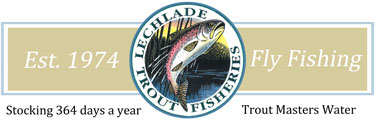 Lechlade Trout Fly Fishing Lake Logo